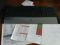 Under my keyboard (Benjamin Alijagi) Tags: desk expression engine css logitechkeyboard