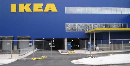 New Ikea-Fence Down