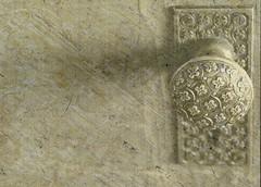knob redux (Rhonda_Marie) Tags: door texture picasa overlay knob thewhitney
