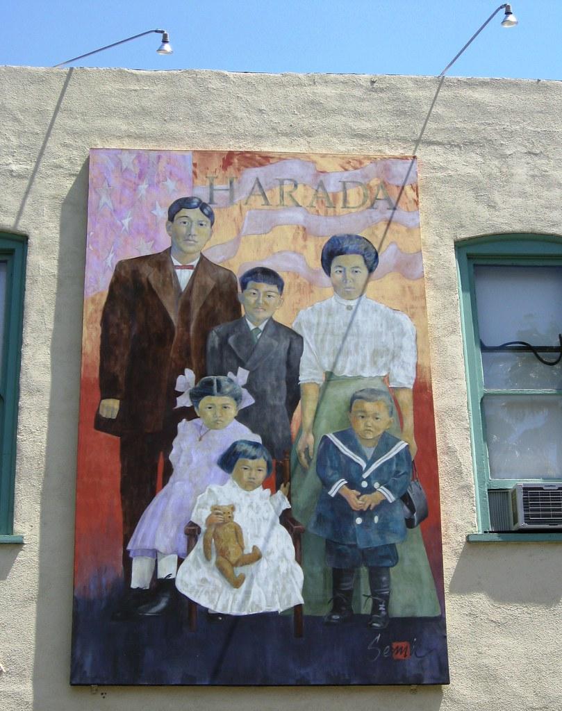 Wall Mural - Harada Family