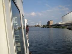 The Millennium Bridge (Rich Spragg) Tags: manchestershipcanal