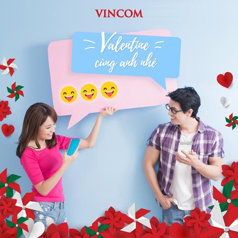 Vincom ưu đãi lớn trong dịp Valentine 14.02