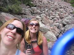 Clare & Jen Enjoy Half Day at West Ridge, Eldo