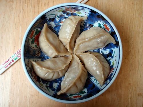 Bulgogi dumplings
