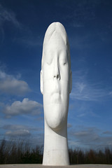 Dream ([DEADCITIES]) Tags: blue sky white art concrete dream sculture quartz sthelens