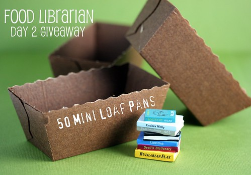 Mini Loaf Pans from Surfas for Giveaway