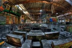 Abandoned Manufacturing Facility