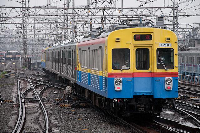 東急電鉄7700系7902F 出場回送