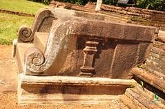 Korawakgala (balustrade) -  Panduwasnuwara (lakpuratravels) Tags: balustrade korawakgala panwasnuwara