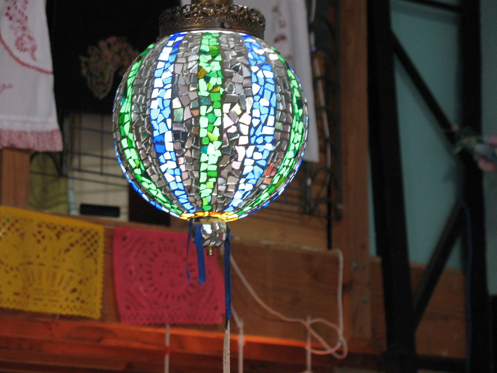 mosaic artisan crafted lamp shade