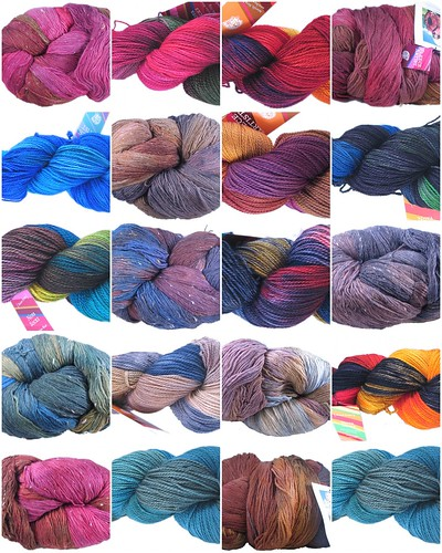 Fleece Artist Skeins