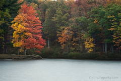 Lake Sherando (t.sullivan photography) Tags: longexposure autumn lake fall sherandolake impressedbeauty