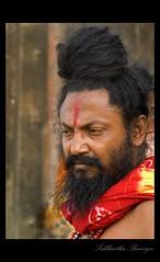 His (Holy) Thought? (me_sid) Tags: life india saint nikon good tradition sadhu d80 mywinners