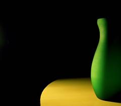 Light.... (Grey Skull) Tags: light green pot vase highfive amateurs abeauty amateurshighfive invitedphotosonly