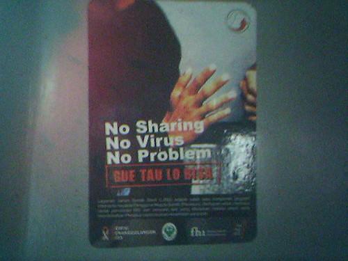 No Sharing No Virus