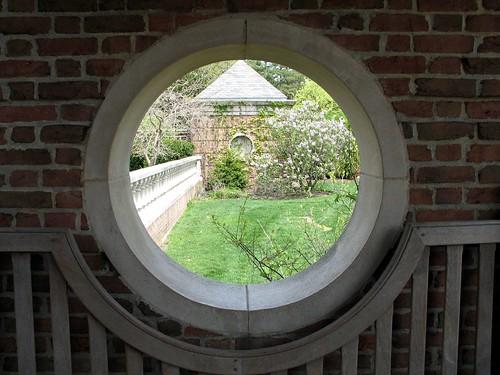 Spring through a Window