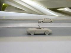in an all white world (ll.d) Tags: white car model zaha hadid