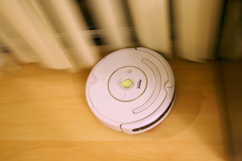 Roomba Doing Its Job