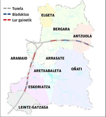 AHTren Debagoieneko mapa