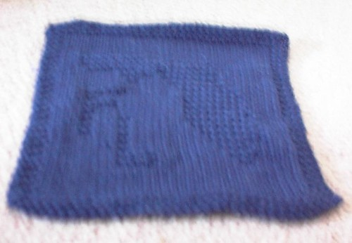 FL Dishcloth - Blue