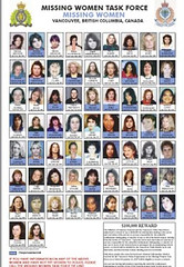 The most recent poster from Vancouver's Missing Women Taskforce was released in 2007.