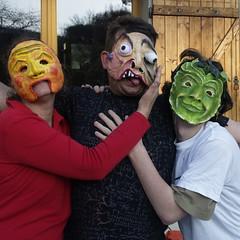 Cuasimodo (Rafael Edwards) Tags: teatro arte mask clown creative craft taller creatividad masque mscara mscaras ma