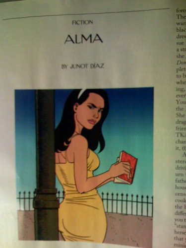 Alma by Junot Diaz