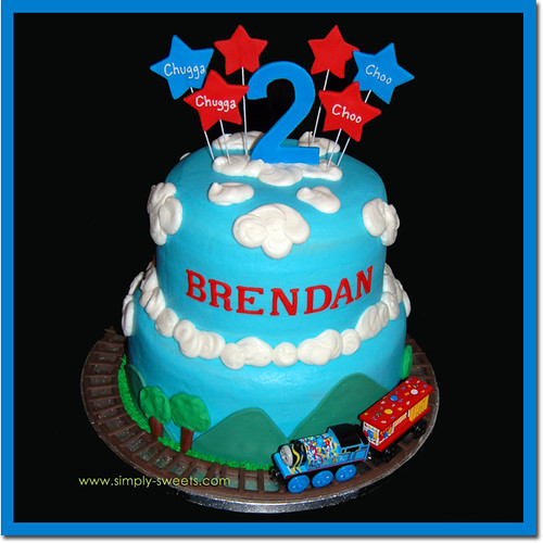 Brendan's Second Birthday Cake