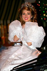 Princess Giselle (FrogMiller) Tags: california christmas ca holiday tourism smile fun holidays princess disneyland smiles parades disney tourists parade giselle anaheim themepark christmastime enchanted disneyprincess castmembers disneylandresort disneycharacter disneyprincesses castmember disneyparade disneylandparade brittdietz