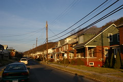 Old houses, Cumberland, Maryland