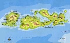 Peta Propinsi NTB