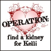 Operation: Find a Kidney for Kelli