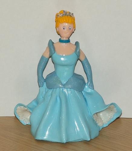 CINDERELLA BIRTHDAY CAKE TOPPER on Flickr - Photo Sharing ...