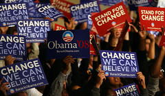 Change We Can Believe In (Daniella Zalcman) Tags: southcarolina columbia obama barackobama barack barackobamarally southcarolinaprimary southcarolinavoters barackobamavictory