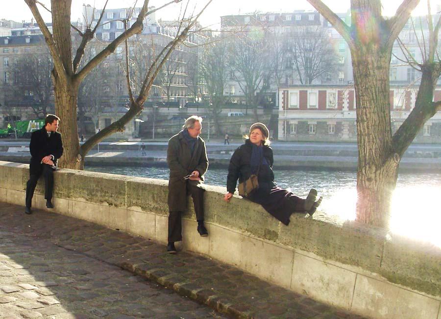 Détente sur les quais de Seine_2