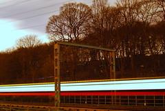 Beware of the Trains (Xindi-69) Tags: night train long exposure shot leeds rail locomotive forge kirkstall leodis ls5