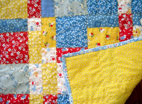 Child Quilt with Backside and Binding