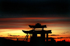 Chineese Sunset (Jeff Bauche._.)) Tags: voyage china travel sunset jeff sunrise trekking trek photography travels mongolia voyages mongol mongolie mongolian bauche golddragon aplusphoto jeffbauche jeanfranoisbauche jeffbauche jeffbauchehotmailcom