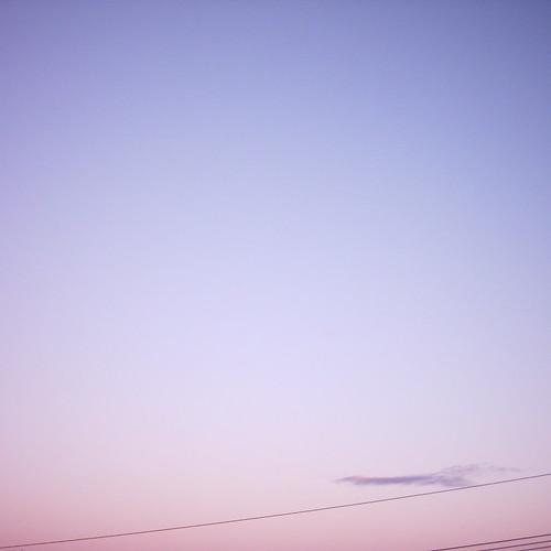 【写真】One-point of Morning glow