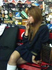 喫煙女子高生@マリグナイト2