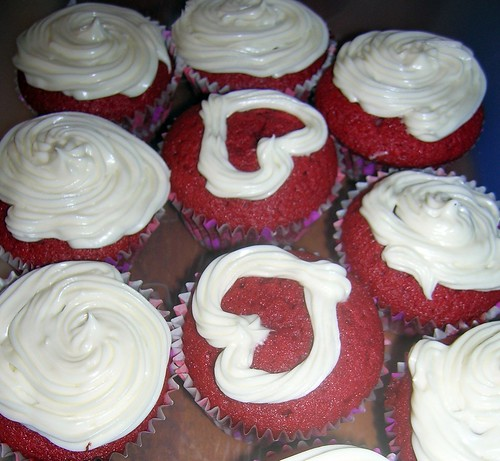 Whole Lotta Red Velvet Cupcakes