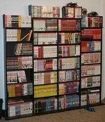 mycollection_mangaetc01 (purpledragon42) Tags: manga books collection bookshelves manhwa oel amerimanga
