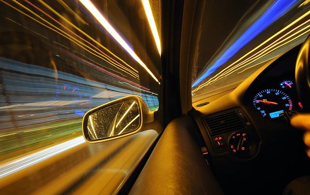 longexposure blue motion blur car topv111 golf volkswagen driving perspective gti 2008 notripod afterdinner 18t whiledriving d300 sigma1020mm 13seconds toniv ©toniv 25022008 fromrumlangtozurich mygearandme mygearandmepremium