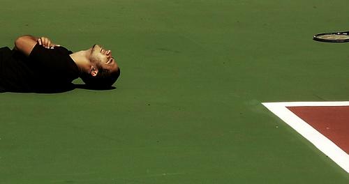 tennis pain