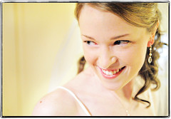 Smile Like an Angel (Ryan Brenizer) Tags: wedding white newyork beautiful smile yellow bride march nikon pretty candid 2008 d3 westchester tarrytown weddingphotojournalism 2470mmf28g missyandcharlie