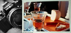film fun ([phil h]) Tags: 15fav france slr film topv111 35mm print photography eos photo diptych minolta wine kodak iso400 sigma vin rosé x700 apéro 1850mm 50mmf17 kodakgoldultra utata:project=taketwo4 x700diptyched1