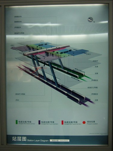 Station Layer Diagram, Century Avenue