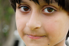 (Hazel Eyes ) Tags: camera family boy portrait face pose children nikon focus dubai child farm uae arabic cousin abdullah