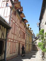 Gatelangs i Troyes