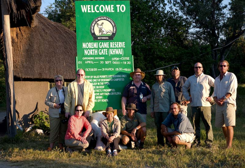 Our Botswana Safari Group